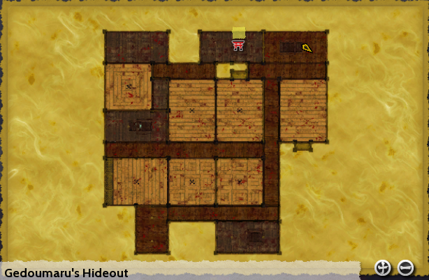 Gedoumaru's Hideout