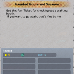 Haunted House and Susanoo