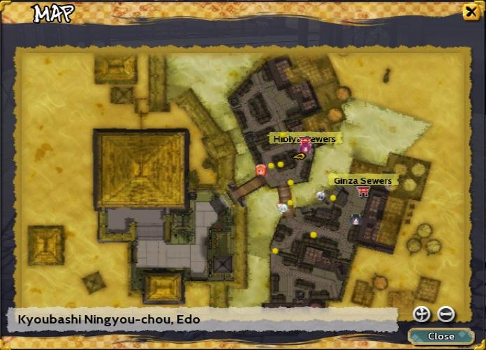 Kyoubashi Ningyou-chou, Edo