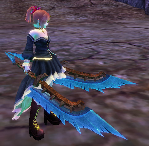 Crystal Twin Blades - Invidia