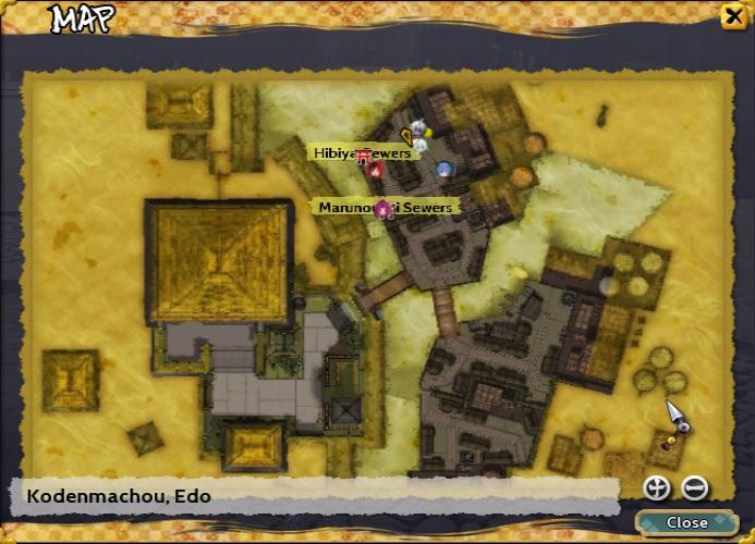 Kodenmachou, Edo