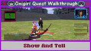 Onigiri Quest Walkthrough Show And Tell Part 68🐲
