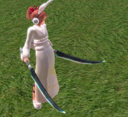 Heavenly Nora Twin Blades