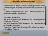 Ancient Room Of Rites