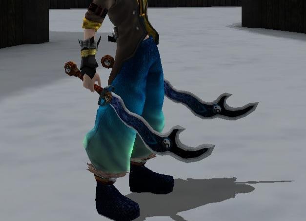 Abeno Twin Blades