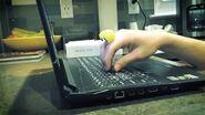 Edgy-Oobi-hand-puppets-Uma-MLM-laptop