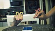 Edgy-Oobi-hand-puppets-Uma-MLM-phone