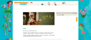 Nickelodeon Junior France 2010 Homepage - Noggin Nick Jr Oobi Uma Kako Grampu Grandpoo