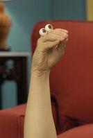 Oobi Nick Jr Noggin TV Series Show Hand Puppet Character 4