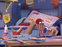 Oobi-Uma-Sick-making-a-card
