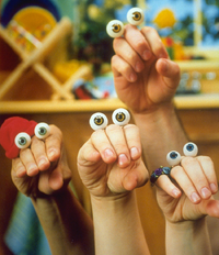 Oobi and his friends