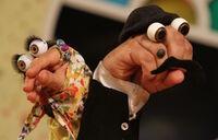 Iranian Persian Oobi Hand Puppet TV Series - Dasdasi Characters