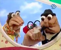 Oobi Dasdasi Hand Puppet Show - Parents and Grandpa
