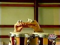 Oobi-shorts-Bongo-Drums-Grampu-teaching