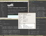 Wmii-3.6 screenshot