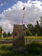 Bild 2 Mauerrest Mauerspecht Wilhelmsruher Damm