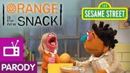 Sesame Street Orange is the New Snack (Orange is the New Black Parody)
