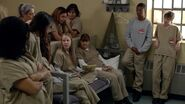03x09, Angie, Leanne, Norma, Poussey, Gina