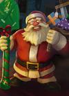 Dobbin Santa's Little Helper card.png