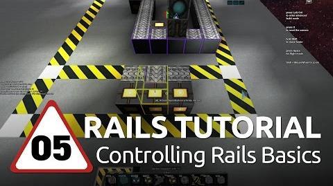Starmade Rails - 05 - Controlling Rail Basics