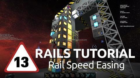Starmade Rails - 13 - Rail Speed Easing