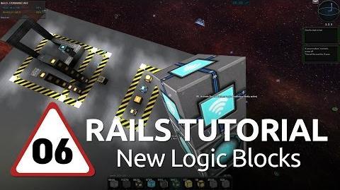 Starmade Rails - 06 - New Logic Blocks