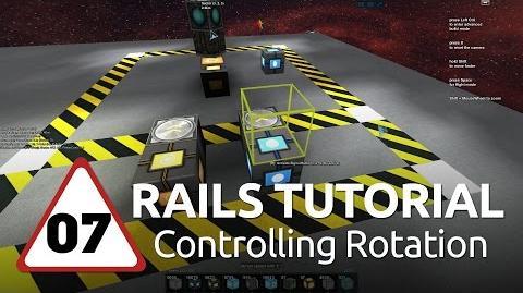 Starmade Rails - 07 - Controlling Rotation