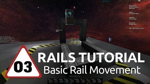 Starmade Rails - 03 - Basic Rail Movement