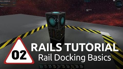 Starmade Rails - 02 - Rail Docking Basics RUS-CC