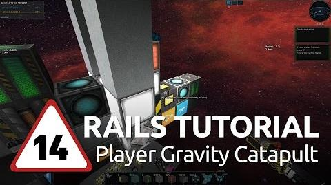 Starmade Rails - 14 - Player Gravity Catapult