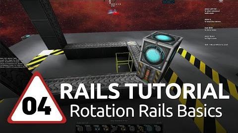 Starmade Rails - 04 - Basic Rail Rotation