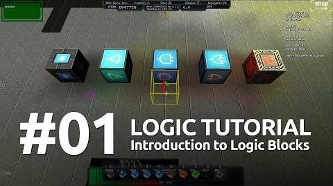 Starmade Logic 1 - Intro to Blocks