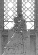 Kyousuke and Kirino's wedding kiss
