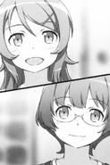 Kirino and Manami