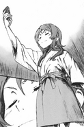 Kirino holds up her ¥60,000 virtual card
