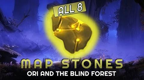 Ori and the Blind Forest - ALL MAP STONES Location Guide - World at your feet Achievement