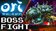 ORI AND THE WILL OF THE WISPS- Horn Beetle Boss Fight