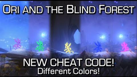 NEW Ori and the Blind Forest CHEAT CODE - Change Colors!