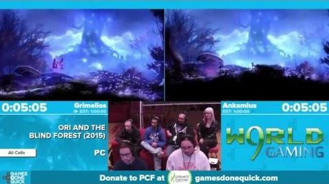 Ori and the Blind Forest by Grimelios, Ankamius in 53 24 - Awesome Games Done Quick 2016 - Part 29