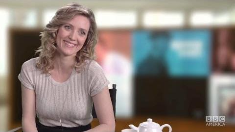 EVELYNE BROCHU Wants Cosima as a Cellmate ORPHAN BLACK A Spot of Tea with DELPHINE