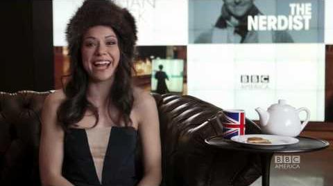 Tatiana Maslany 3 Questions, 2 Biscuits 1 Cup of Tea, Part 2 - ORPHAN BLACK BBC America
