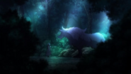 Fiena and Deep Dragon in Fenrir Forest