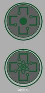 Medical emblem concept