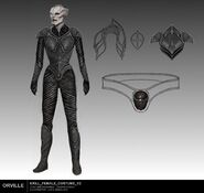 Krill female sketch 2