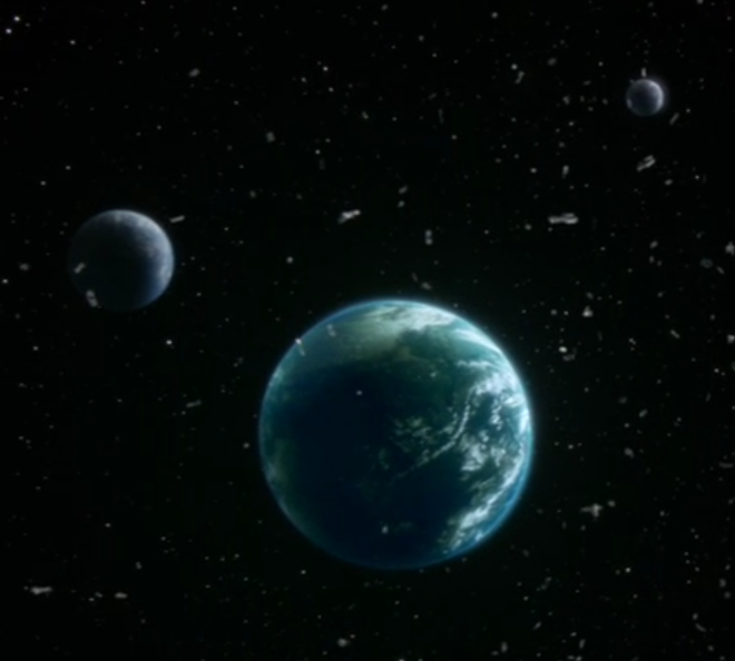 Habitable planet (Nothing Left on Earth Excepting Fishes)