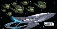 Krill destroyer x8 vs Orville