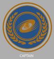 Captain emblem sketch