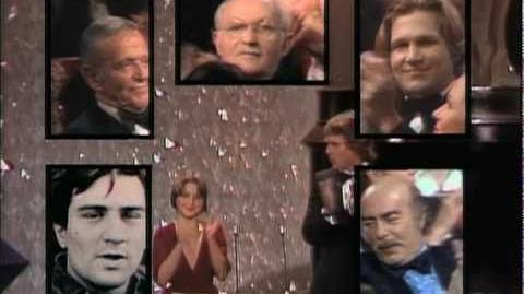 Robert De Niro Wins Supporting Actor 1975 Oscars