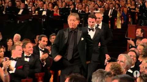 """Les Misérables"" winning the Oscar® for Sound Mixing"