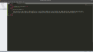 Sublime Text 3 HTML Example